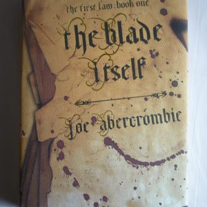 Abercrombie, Joe (2006) 'The Blade Itself', signed first edition