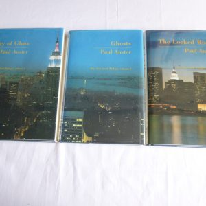Auster, Paul (1985, 1986, 1986) 'The New York Trilogy', signed first editions