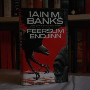 Banks, Iain (1994) 'Feersum Endjinn', signed first edition