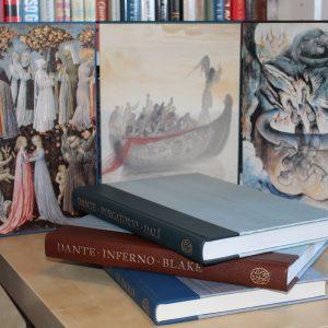 Dante, Aligieri (2004, 2007, 2009) 'Inferno'; 'Purgatorio'; 'Paradiso' (aka Divine Comedy), Folio Society fine set