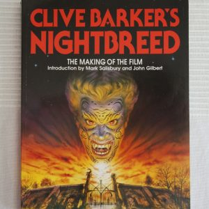 Barker, Clive (1990) 'Clive Barker's Nightbreed: the Making of the Film', signed first edition