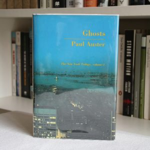 Auster, Paul (1986) 'Ghosts', signed first edition