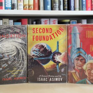 Asimov, Isaac (1951-1953) 'Foundation' trilogy, US first edition set + signed autobiography