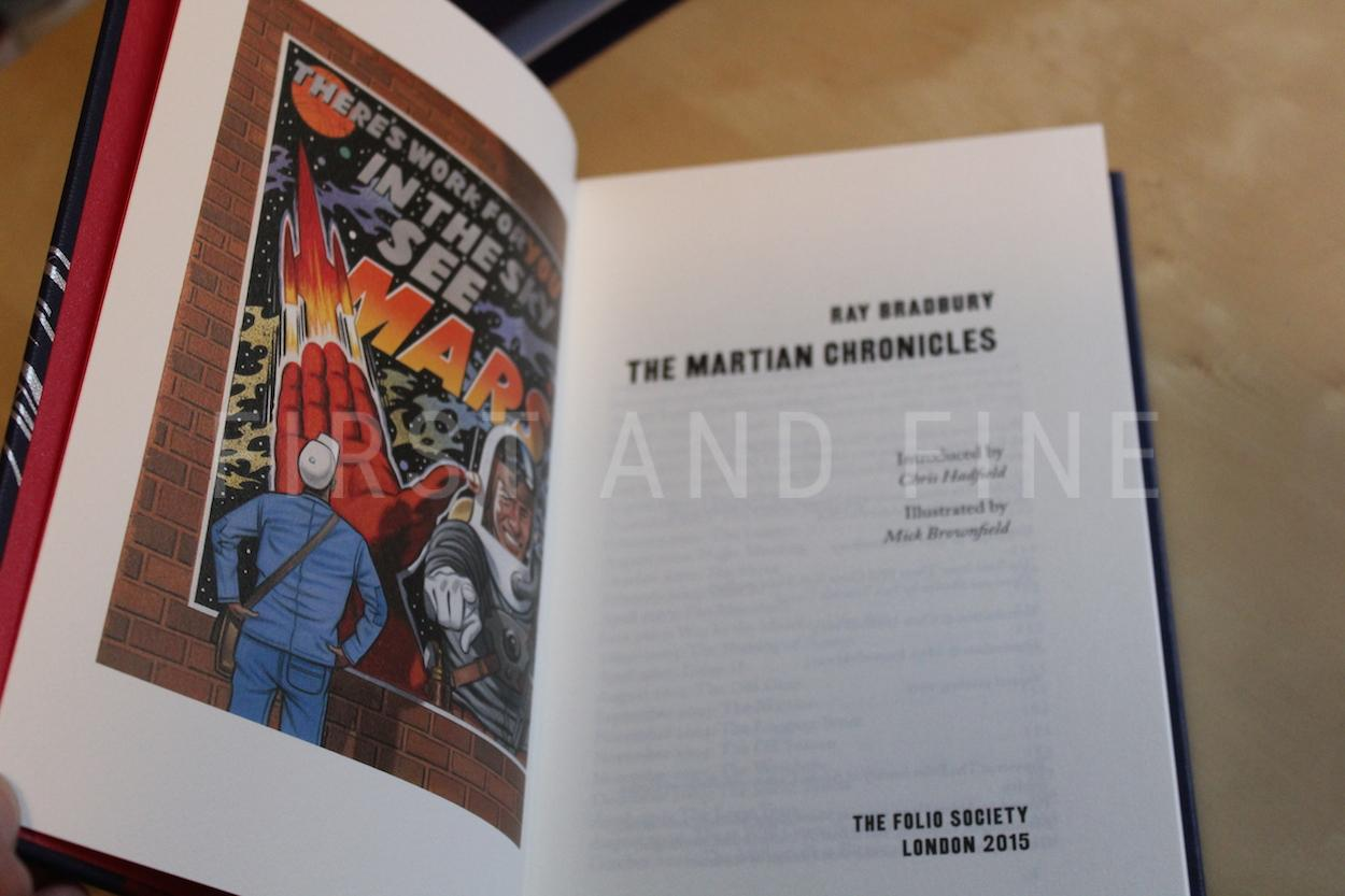 The Folio Society The Martian Chronicles
