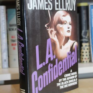 Ellroy, James (1990) 'L.A. Confidential', US first edition signed association copy