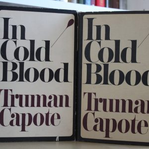 Capote, Truman (1966) 'In Cold Blood', US and signed UK first editions