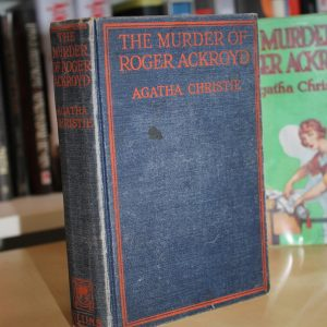 Christie, Agatha (1926) 'The Murder of Roger Ackroyd', UK first edition