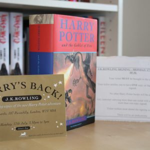 Rowling, J.K. (2000) 'Harry Potter and the Goblet of Fire', UK signed first edition with golden ticket