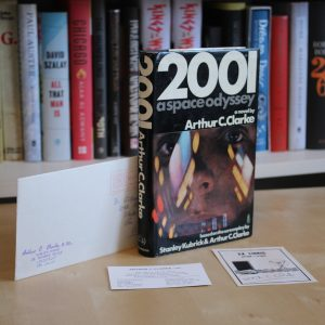 Clarke, Arthur C. (1968) '2001: A Space Odyssey', signed UK first edition