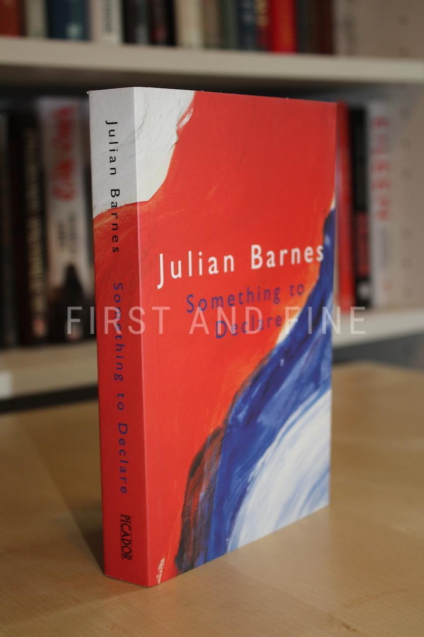 Barnes, Julian (2002) 'Something to Declare', UK signed ...